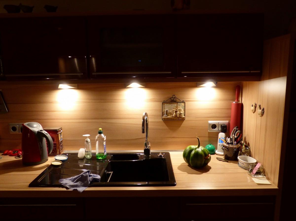 konyhapult világítás
